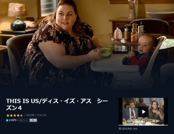 this is us シーズン4 u-next